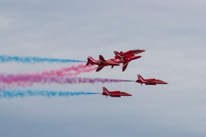 Red Arrows roll-backs