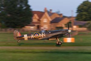Spitfire MK.5C taking off