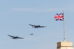 BBMF and Canadian Lancaster